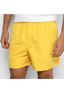 Bermuda Osklen Elastico Aqualight Masculina - Masculino-Amarelo