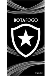 Toalha De Banho Bouton Veludo Botafogo 70 X 1,40 Cm - Unissex