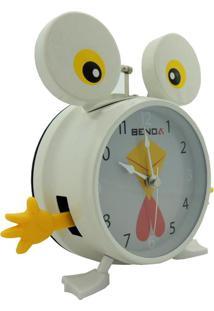 Relógio Benoá Galinha Dn815Ck Com Despertador