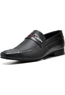 Sapato Executivo Top Franca Shoes Masculino - Masculino-Preto