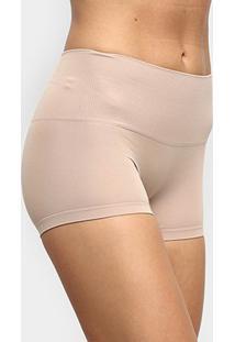Calcinha Modeladora Trifil Boxer - Feminino-Nude