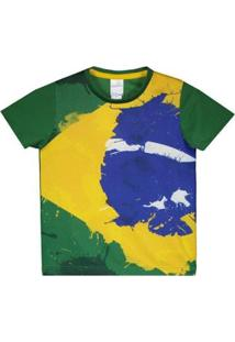 Camisa Brasil Solimões Infantil - Masculino