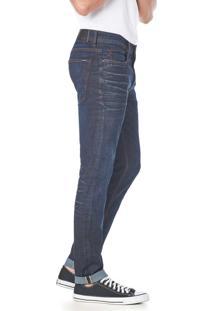 Calça Jeans Convicto Slim Mustache 3D
