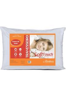 Travesseiro Altenburg Soft Touch Toque De Seda 50X70Cm Branco