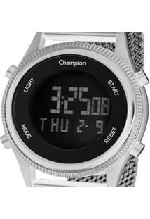 Relógio Champion Digital - Unissex-Prata