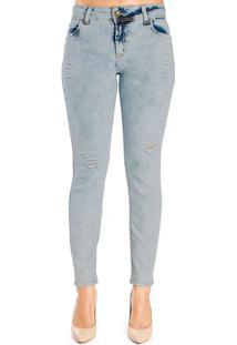 Calça Jeans Super Skinny Fátima Colcci