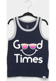 Camiseta Bebê Gap Malha Good Times Masculina - Masculino