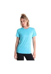 Camiseta Basic Energy - Azul Claro - Líquido