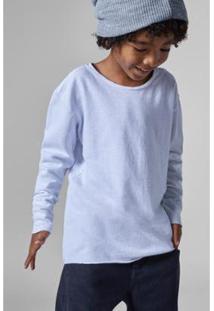 Camiseta Infantil Crepe Reserva Mini Masculina - Masculino-Branco