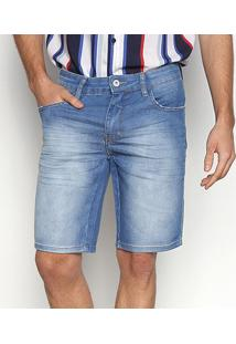 Bermuda Jeans Triton Yuri Masculina - Masculino