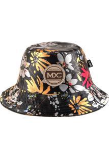 Chapéu Bucket Mxc Original - Garden Preto