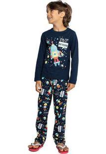 Pijama Marisol Infantil - 10316393I Azul