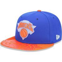 6eac1d5e8c70a Boné 950 New York Knicks Nba Aba Reta New Era - Masculino-Azul Royal