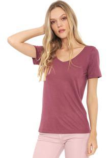 Camiseta Lez A Lez Lisa Bordô