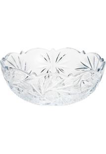 Saladeira De Vidro Sodo-Cálcico Com Titanio De Pinwheel Luxo 22Cm - Unissex