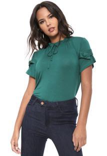Camiseta Lança Perfume Amarração Verde