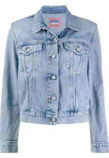 Acne Studios Jaqueta Jeans Slim - Azul