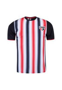 Camisa Sáo Paulo Braziline Part Dry Fit Masculino