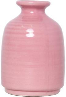 Vaso Decorativo Buya Rosa 8X11 Cm