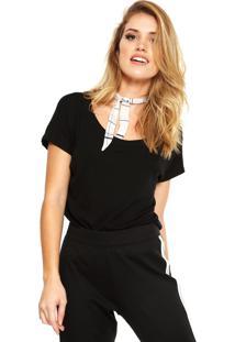 Camiseta Liz Easywear Preta