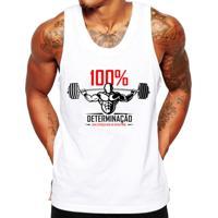 f00cca0063 Camiseta Regata Criativa Urbana Fitness Academia Frases - Masculino-Branco