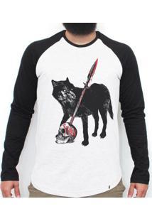 Stark - Camiseta Raglan Manga Longa Masculina