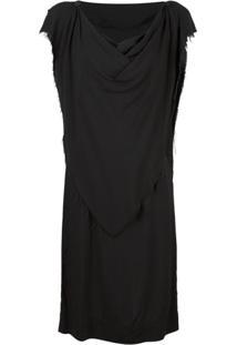 Vivienne Westwood Anglomania Vestido Midi - Preto