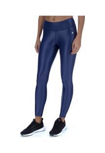 Calça Legging Fila Flat Life - Feminina - Azul Escuro