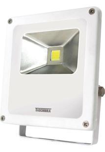 Refletor Led Taschibra Tr10, Branco, 10 Watts, 6500K