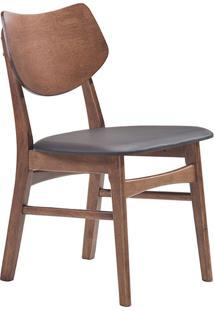 Cadeira Pvc Edna -Rivatti - Café
