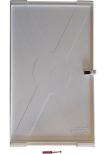 Prateleira Em Plástico Pratplast 23X35Cm Cinza
