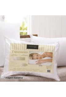 Travesseiro Fashion- Branco- 70X50Cm- 200 Fios