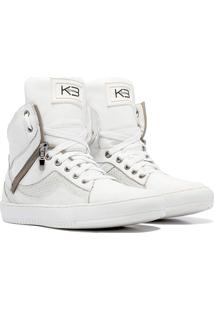 Sneaker K3 Fitness Pretty Branco
