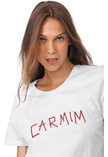 Camiseta Carmim Connet Branca