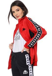 Jaqueta Kappa Originale Vermelha