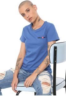 Camiseta Volcom Easy Babe Azul