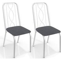 4634ff5858 Kit De Cadeiras Com 2 Unidades