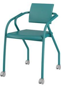 Cadeira 1713 Cor Turquesa Com Napa Turquesa - 26435 - Sun House