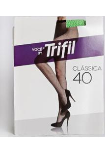 Meia-Calça Neon Arrastão Feminina Trifil Fio 40 Verde