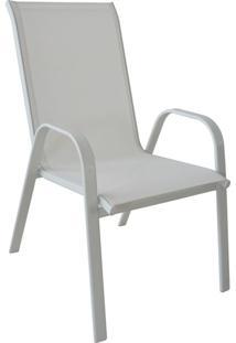 Cadeira De Jardim Rio Branca