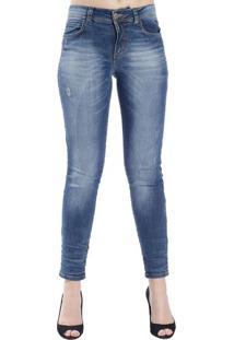 1fe613c19 Occhi Azzurri. Calça Jeans Skinny Destonada Colcci