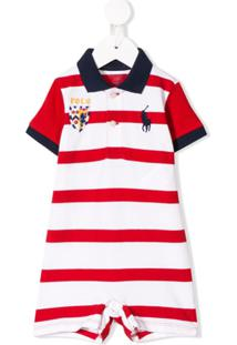 Ralph Lauren Kids Contrast Logo Body - Branco
