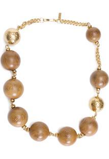 Colar Feminino Madeira - Dourado