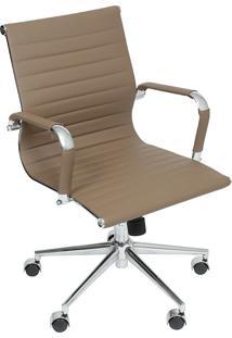 Cadeira Para Escritório Baixa Esteirinha 3301-Or Design - Fendi