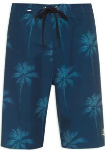 Bermuda Masculina Coqueiros - Azul