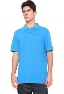 cc41521253 Camisa Polo Timberland Regular Fit Millers Azul
