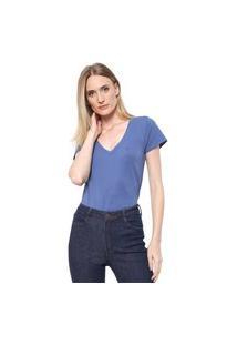 Camiseta Dudalina Lisa Azul