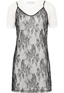 Vestido Slip Dress Crawford - Branco