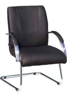Cadeira De Escritório Interlocutor Master Preto