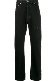Helmut Lang Calça Jeans Masc Hi - Preto